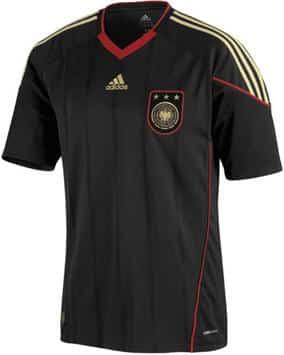 schwarzes Deutschlandtrikot 2010