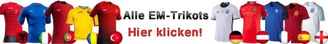 Alle EM Trikots 2016 anschauen!